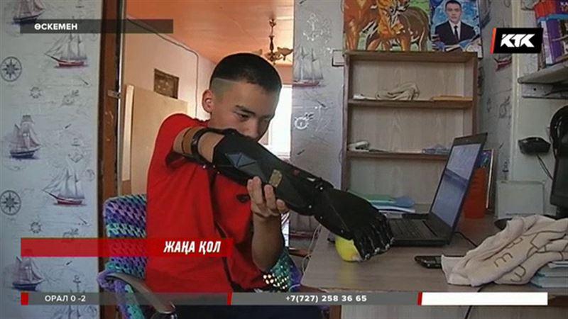 Өскемендік 15 жастағы Әкежан Арғынғазин «ерекше» қолдың иесі атанды