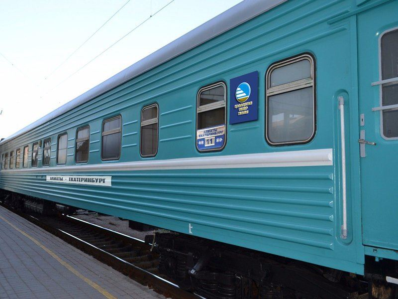 Бүгін халықаралық «Алматы-Астана-Қазан» пойызы жолға шықты