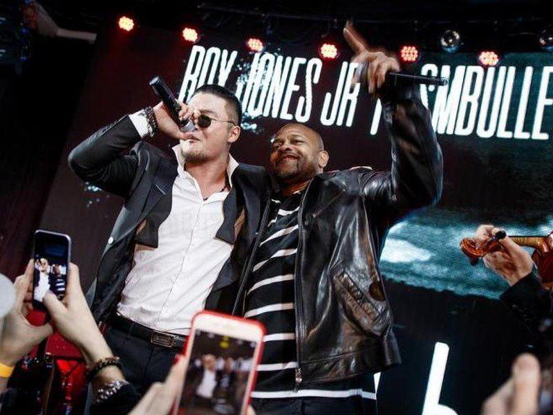 Солист группы MBAND записал трек с боксером Роем Джонсом