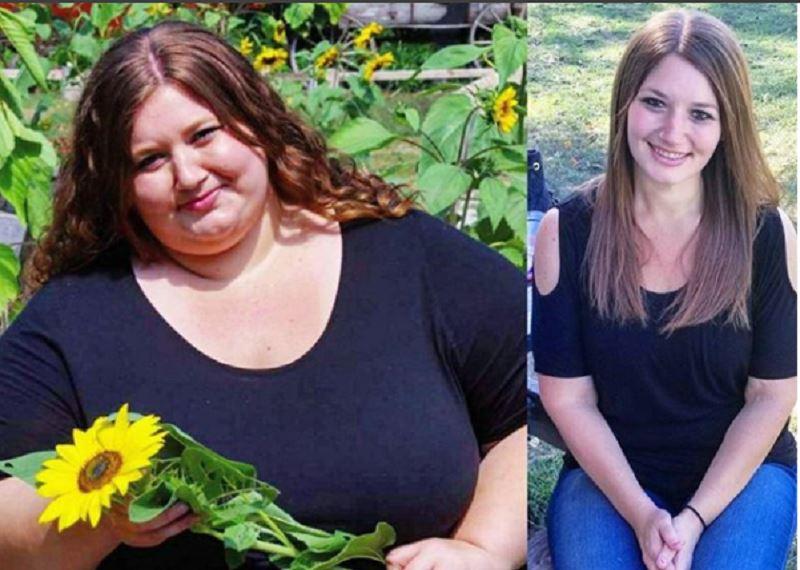 Ради мечты пара сбросила 180 килограммов за год