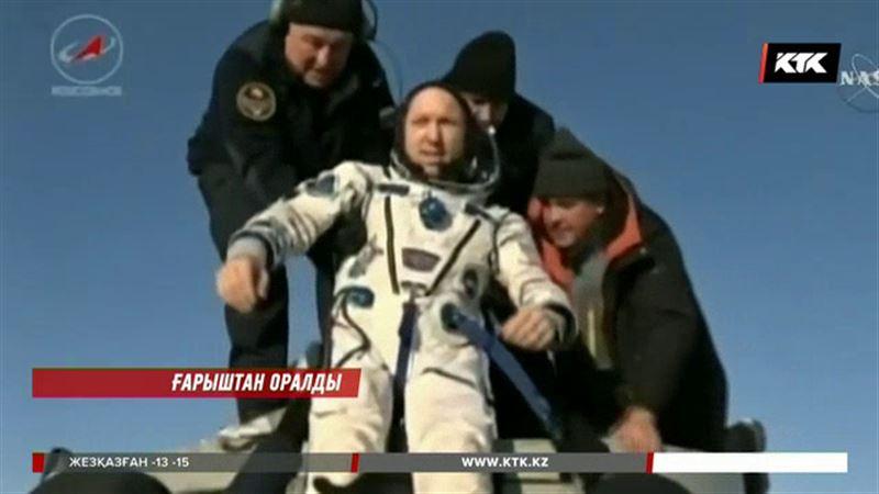 Қарағанды облысында ғарыш кемесінен ажыраған капсула сәтті қонды