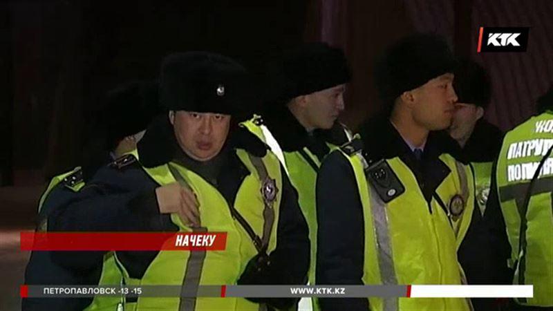 Полиция Казахстана в праздники будет работать в усиленном режиме