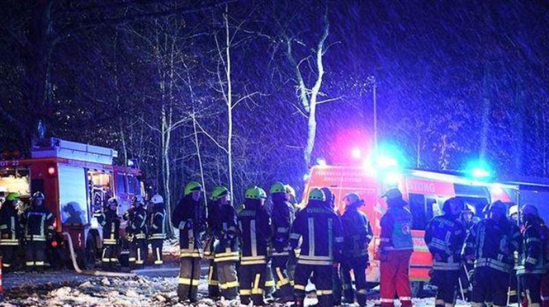 В Германии разбился легкомоторный самолет, есть погибшие