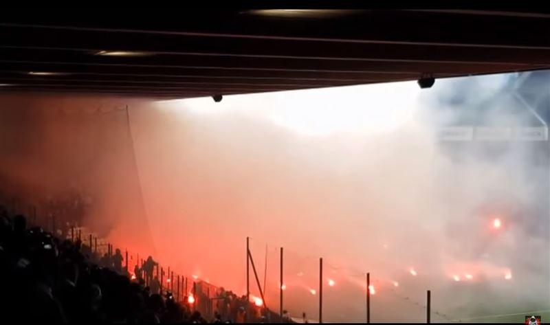 Футбольный матч прервала огненная перестрелка