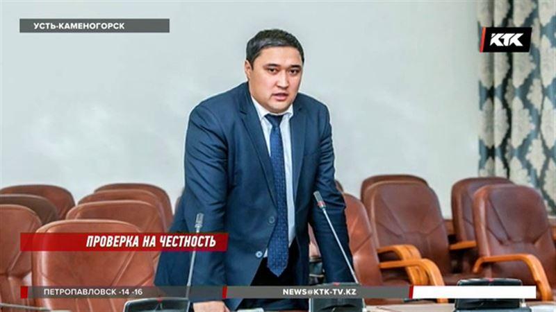 Заместителя акима Усть-Каменогорска подозревают в коррупции