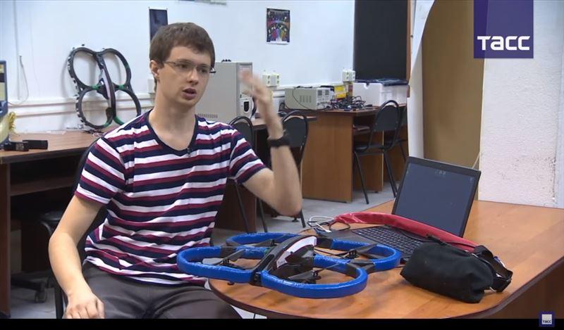 В Воронеже разработали дрон, который управляется движением глаз