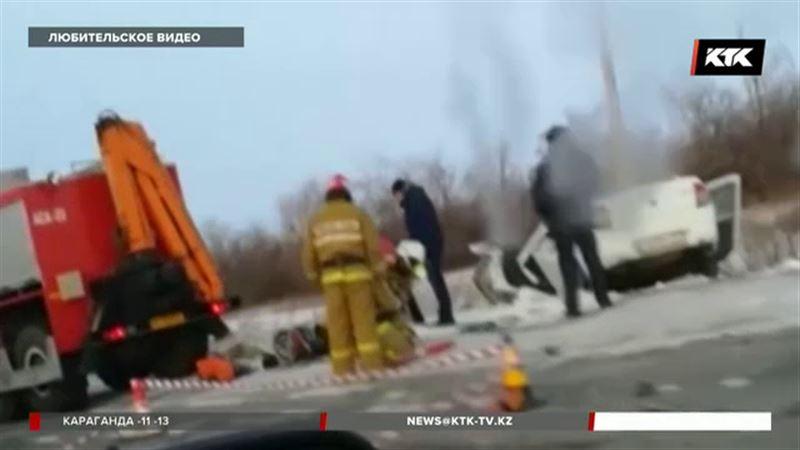 В ЗКО авария унесла жизни двух человек