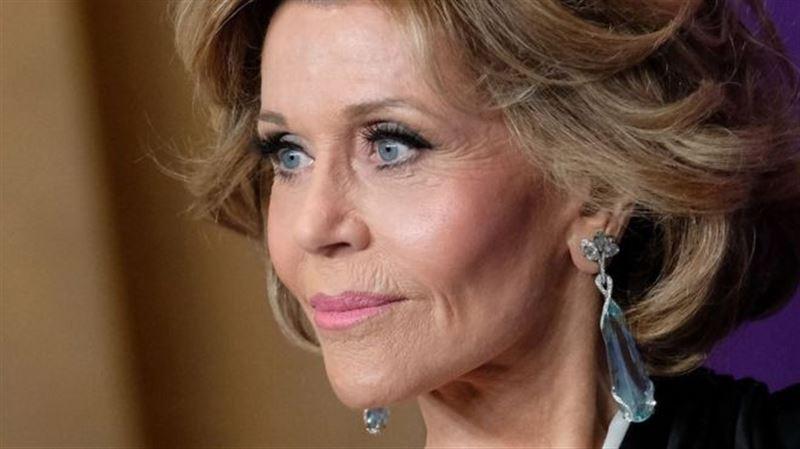 Американская актриса и модель Джейн Фонда отмечает юбилей