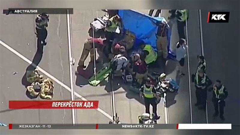 Мельбурн: среди пострадавших во время наезда внедорожника казахстанцев нет