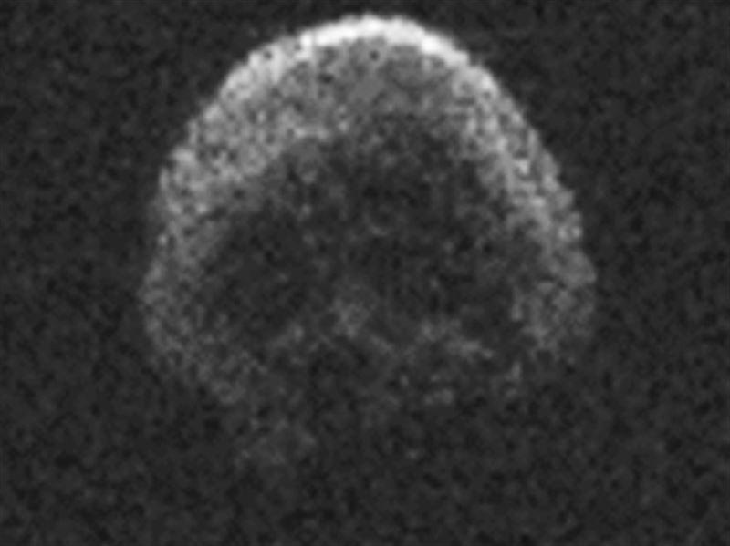 Астероид в форме черепа направляется к Земле