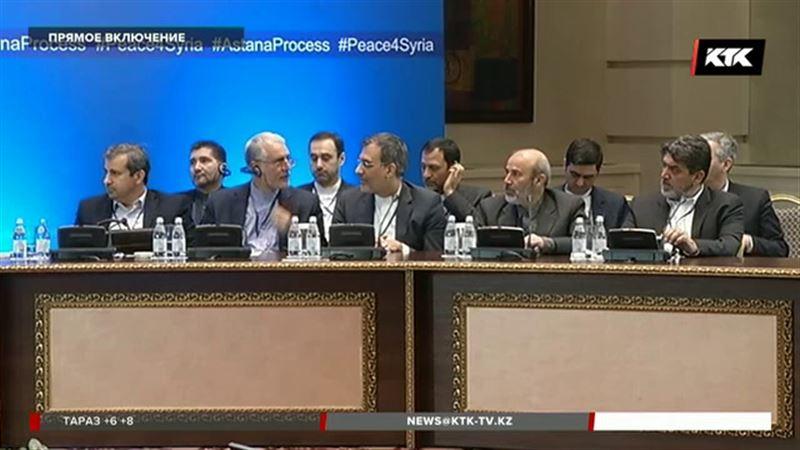 Назначено время проведения переговоров «Астана-9»