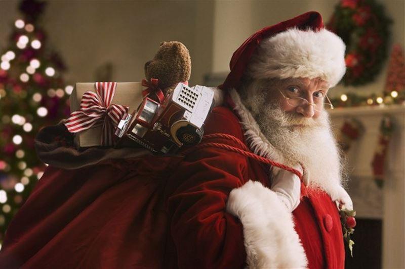 Санта-Клаус отправился в кругосветное путешествие