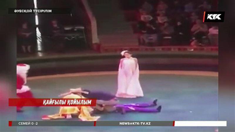 Көрермен көзінше биіктен құлап, аман қалған астаналық гимнастшы қыз циркке  қайта оралмақ