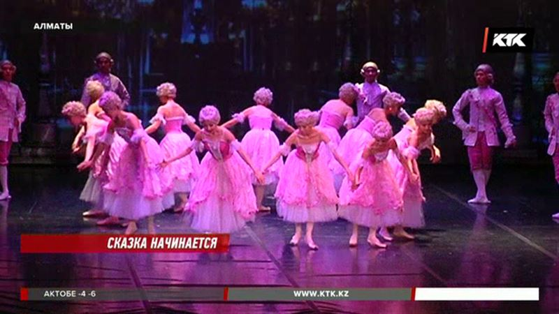 Солисты Большого и Мариинки танцевали для воспитанников детдомов