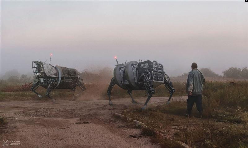 Художники представили серию сюрреалистических снимков под названием «Россия 2046»