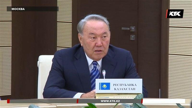 Назарбаев пожелал Путину успеха на предстоящих выборах