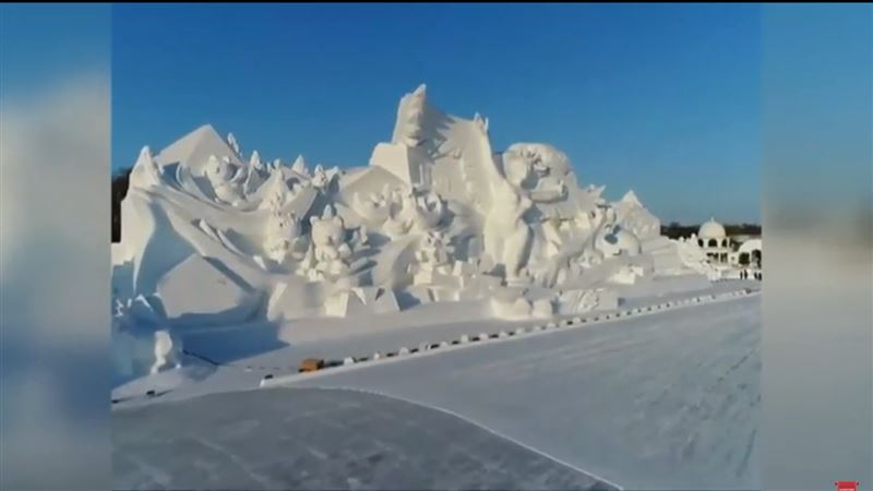 В Китае открылась 30-ая Международная выставка снежных скульптур