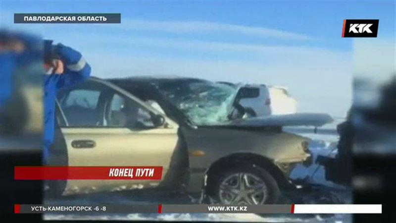В Павлодарской области в ДТП погиб водитель