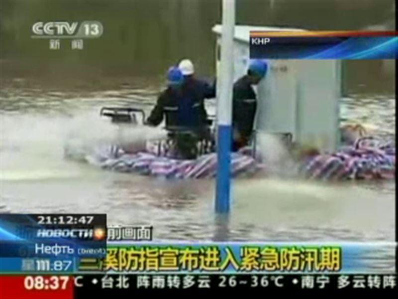 Почти три миллиона жителей Китая пострадали от наводнений