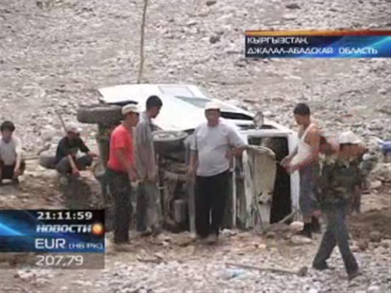 На юге Кыргызстана подcчитывают ущерб от селя
