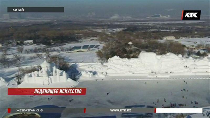 Мировые архитектурные сооружения отлили изо льда
