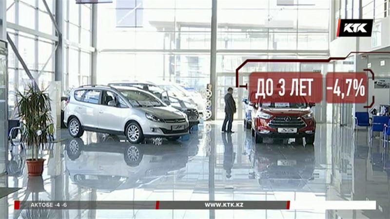 Новые авто для казахстанцев стали недоступны
