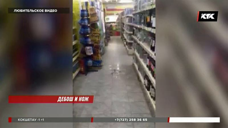 При нападении на магазин налетчики тяжело ранили охранника