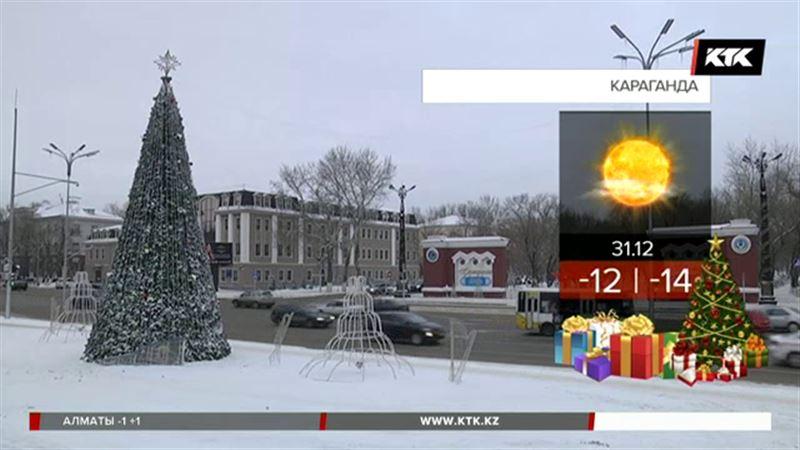 Как и положено, 31 декабря будет морозно