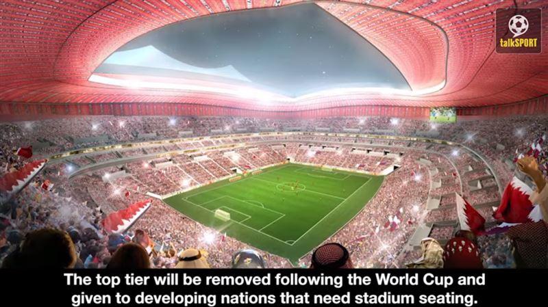 Оргкомитет чемпионата мира по футболу-2022 презентовал проекты стадионов