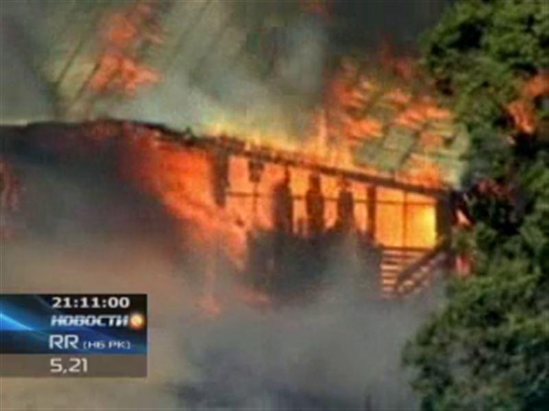 В Техасе продолжают бушевать лесные пожары