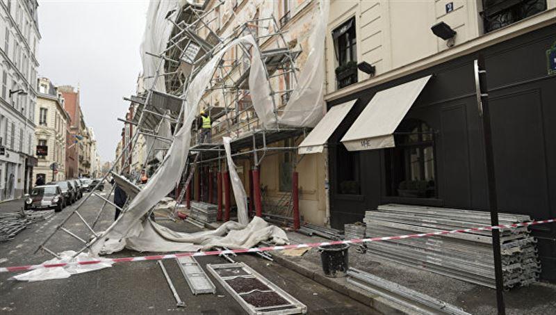 Ураган «Элеанор» унес первую жизнь во Франции