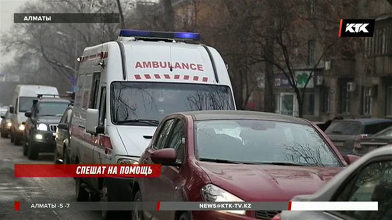 В Алматы появятся 35 передвижных станций скорой помощи
