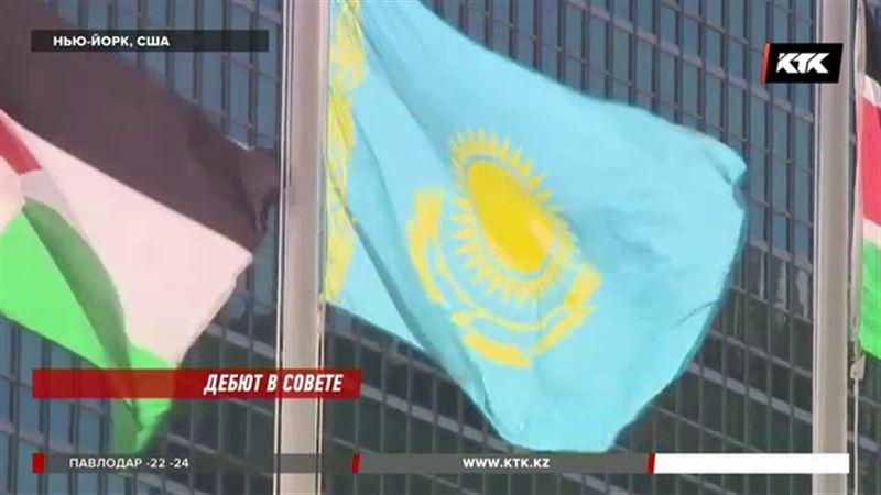 В стенах ООН по инициативе Казахстана подняли еще шесть флагов