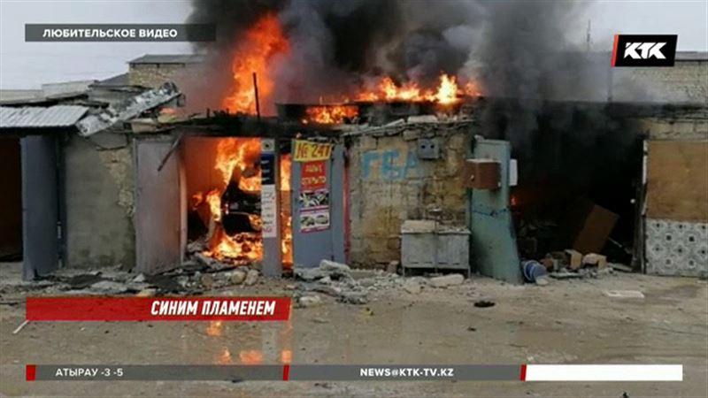 В Актау прогремел взрыв в гараже