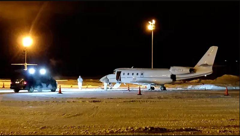 Немецкого пилота убило дверью перед взлетом в Финляндии