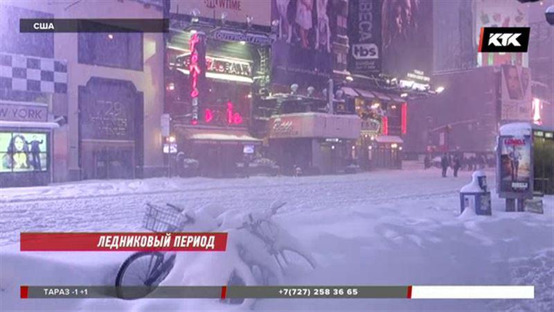 Американцы готовятся к худшему – снегопады усилятся