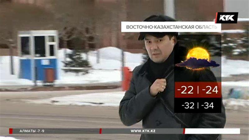 На территории Казахстана заметно потеплеет