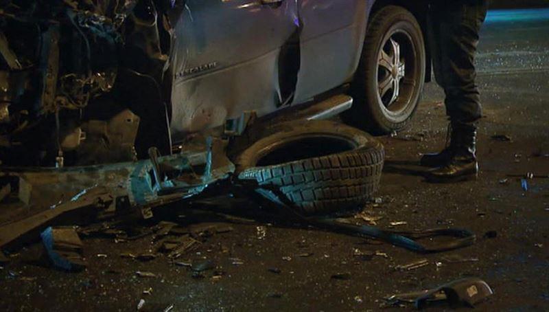 Массовая авария с участием 18 машин произошла под Смоленском