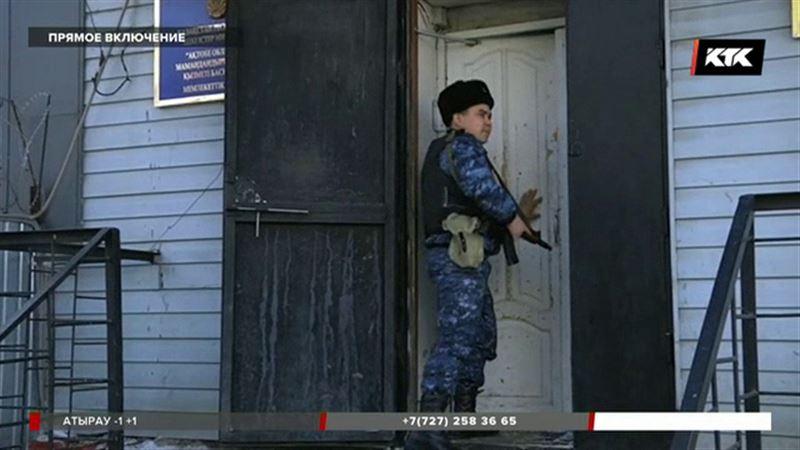 На территории акимата Актобе застрелился охранник - заведено уголовное дело