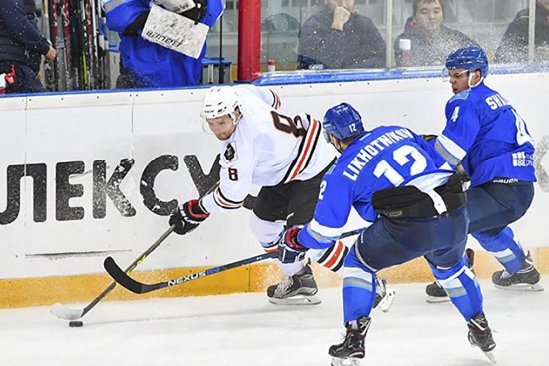 Хоккей: «Барыс» «Амурдан» жеңіліп қалды