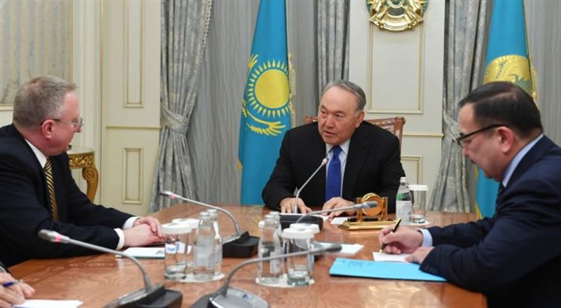 Нұрсұлтан Назарбаев АҚШ елшісімен кездесті