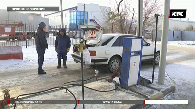 Автогаз в  Уральске неожиданно подорожал