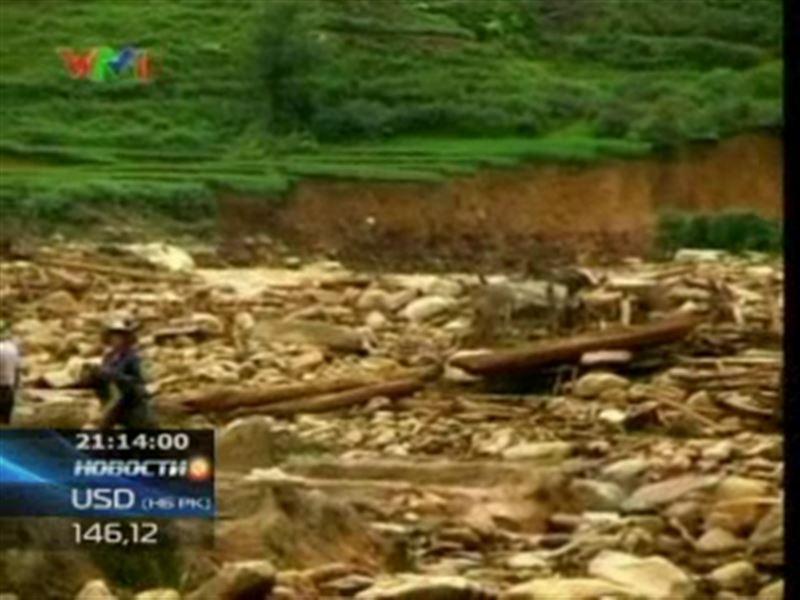 Грозовой циклон обрушился на север Вьетнама