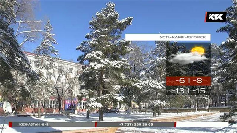 Сильный снегопад и метель в нескольких регионах