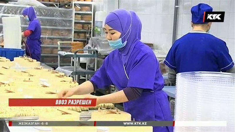 Ограничения на ввоз сладостей  из Кыргызстана сняты