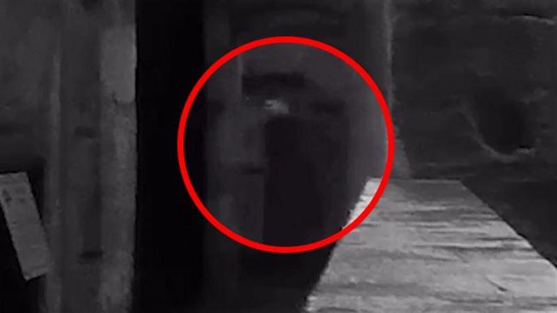 ШОК: Призрак казненного убийцы попал на видео