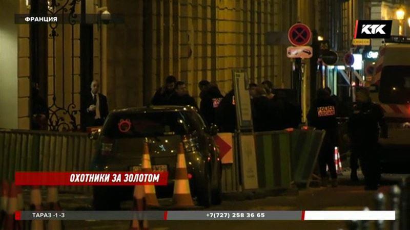 Парижский салон ограбили на 4,5 миллиона евро воры с топорами