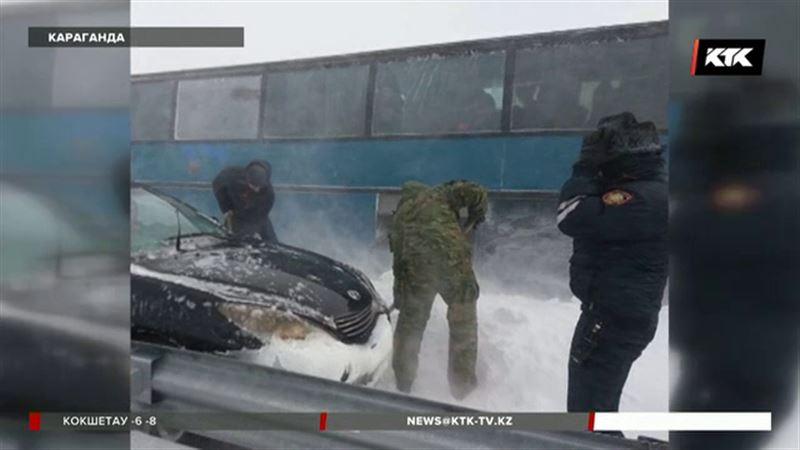 В Карагандинской области закрыты дороги