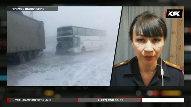 Опрокинулся автобус с 45 пассажирами – Карагандинская область на прямой связи со студией