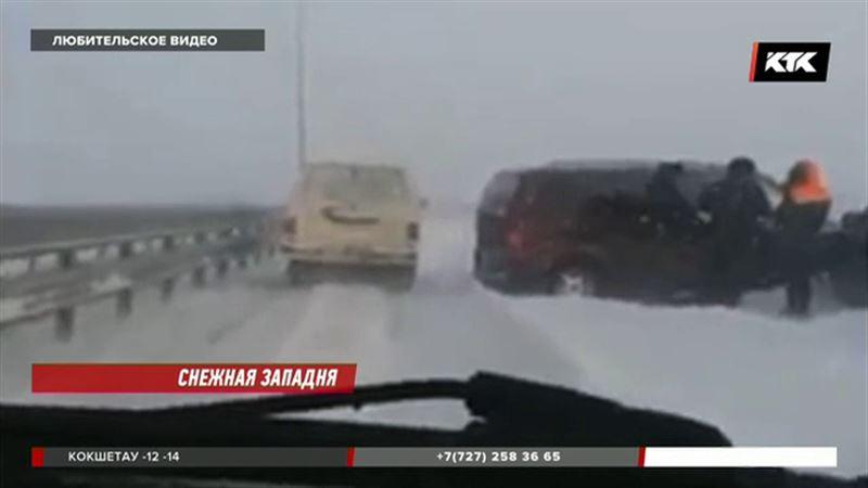 75  аулов Павлодарской области остались без света после бурана
